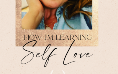 Because it IS ok to look like you love yourself…