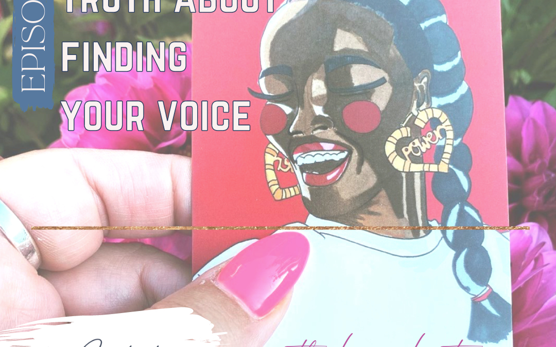 The (bloody) Truth About Finding Your Voice with Lisa Lister